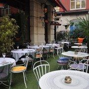 Enjoy our outdoor terrace