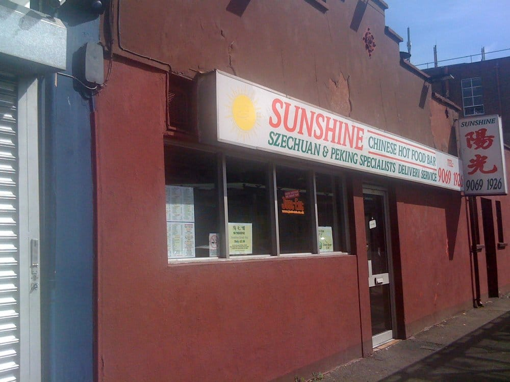 sunshine hot food bar takeaway fast food 282 ormeau