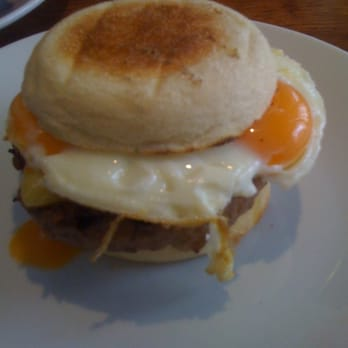 the sausage and egg HKmuffin