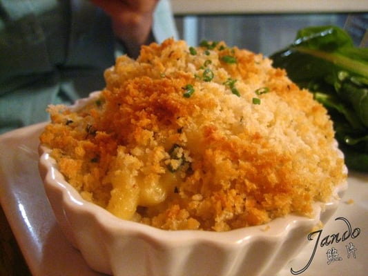 Macaroni and Cheese with Herbed Bread Crumbs | Yelp