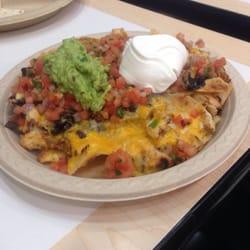 Baja Fresh - Beaverton, OR, États-Unis. Chicken nacho