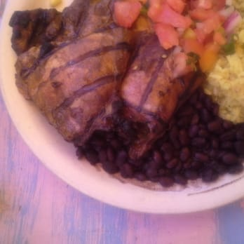 Primo Patio Cafe   San Francisco, CA, United States. Jerk Chicken