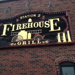 Firehouse Grill - Nice outdoor seating - Evanston, IL, Vereinigte Staaten