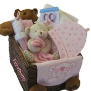 Teddy bear gift hamper