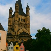 Groß St. Martin, Köln, Nordrhein-Westfalen