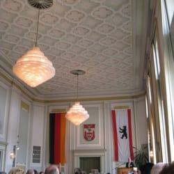 Im Bürgersaal des Rathauses