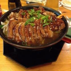 Nudelsuppe mit knuspriger Ente und jap.…