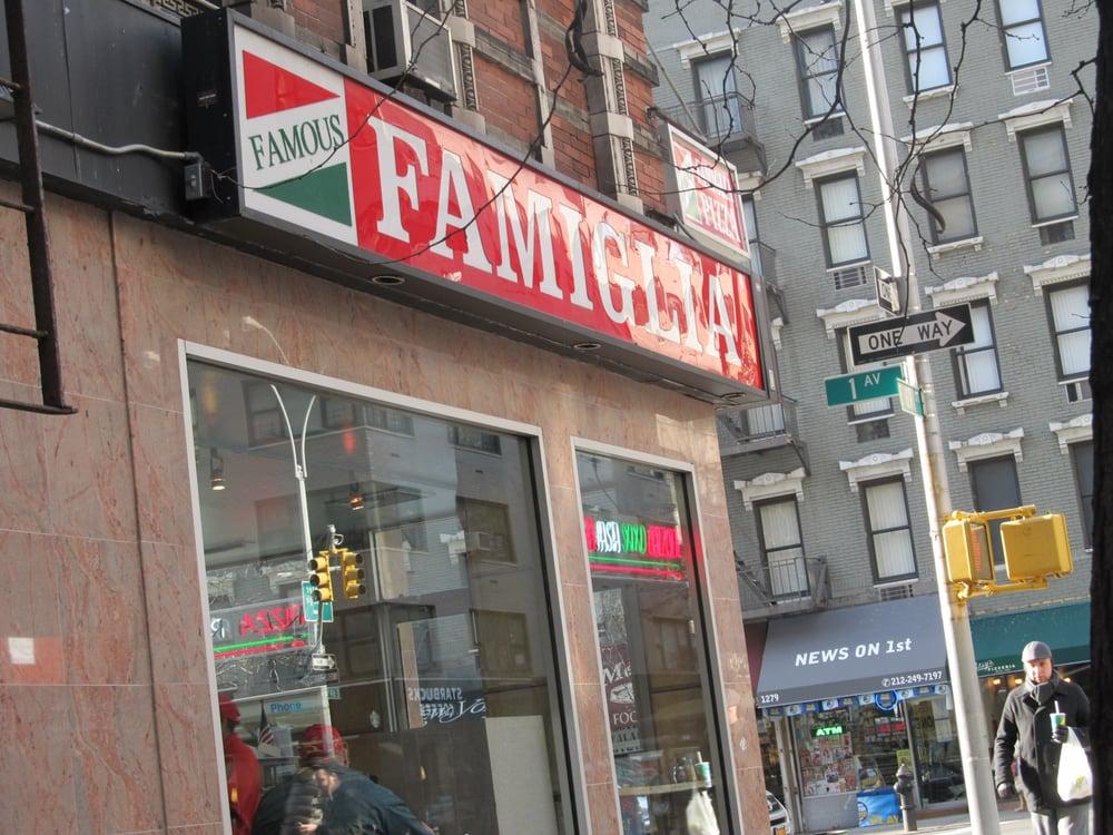 Famous famiglia 17 billeder pizza upper east side for Casa famiglia new york