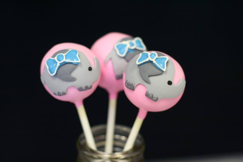 Cake Pop Elephant Elephant Cake Pops For
