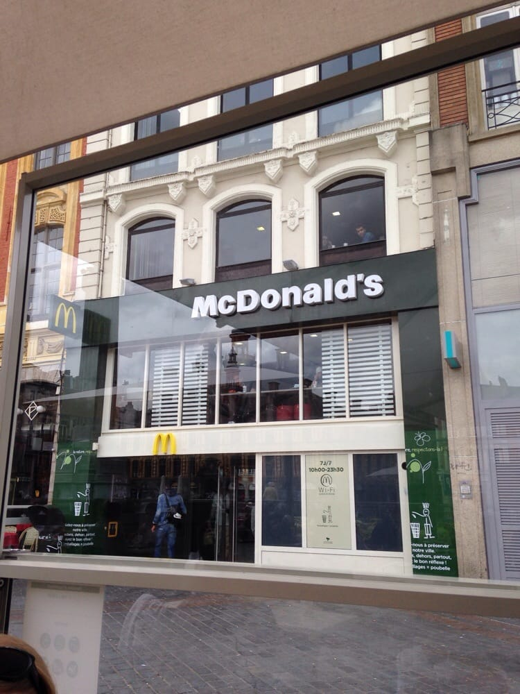 mcdonald s burgers centre lille france reviews photos yelp. Black Bedroom Furniture Sets. Home Design Ideas