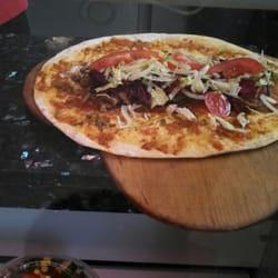 The beginnings of my doner kebab on…