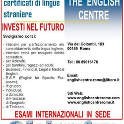 The English Centre, Roma