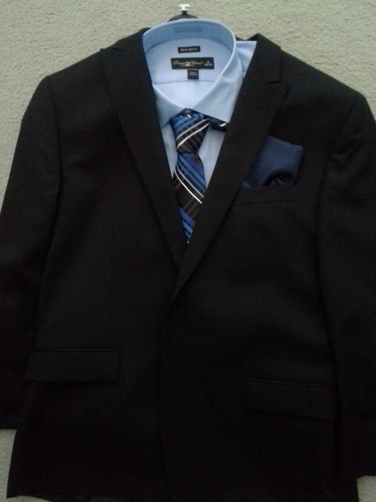 Grad School Interview Suit No. 4 - Light Blue Dress Shirt ...