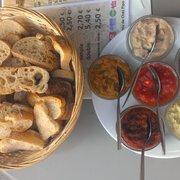 Assortiment de tartinades (9€)
