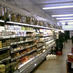 Halsted Food Center - The dairy section. Milk ,Cheese,eggs. - Chicago, IL, Vereinigte Staaten