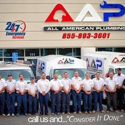 AAP All American Plumbing logo