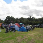 "The ""tent village"" during the Scrabsters Bike Meet 2009"
