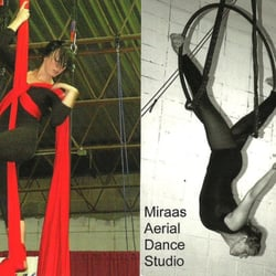 Miraas Aerial Dance logo