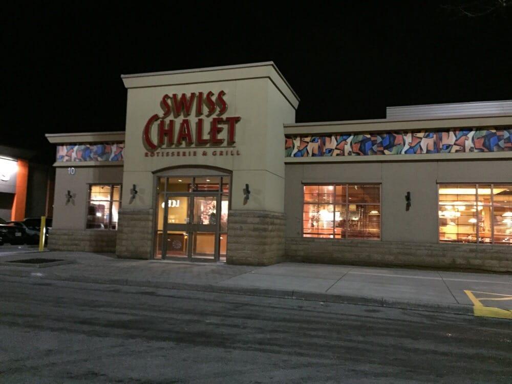Swiss Chalet Rotisserie Grill Restaurants Bolton On