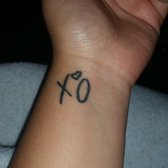 My xo for the weeknd