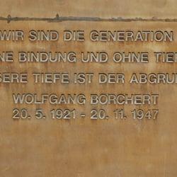 Wolfgang Borchert Denkmal, Hamburg