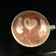Perugino - Eugene, OR, United States. Latte art from the baristi!