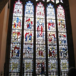 St Martin window: dating from 1440, it…