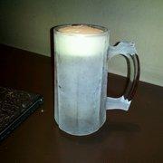 Bicycle & Gogi Restaurant - Ice cold beer mugs!!!!! loveeeeeee it!!!! - Los Angeles, CA, Vereinigte Staaten