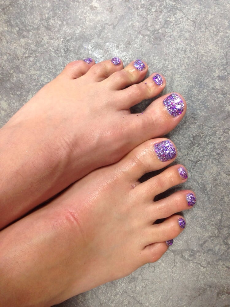 Glitter Toes How to do Glitter Toes Tucson az