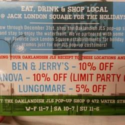 Oaklandish Pop Up Shop - Flyer for the pop up shop - Oakland, CA, Vereinigte Staaten