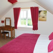 Master bedroom in cottage for 4 at greetham Retreat near Horncastle in the Lincolnshire Wolds