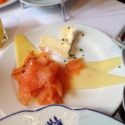 Coco chanel brunch - salmon & cheese…