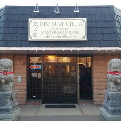 Dim Sum Villa - New Providence, NJ, États-Unis. New outdoor signage