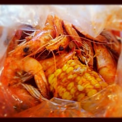 The Boiling Crab 1 Lb Shrimp Whole Shebang Medium W Corn Garden Grove Ca United States