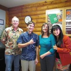 Ho'ike Kauai Community Television - Lihue, HI, États-Unis. J, Justin Kollar, Michelle and Rami at Ho'ike Studios.