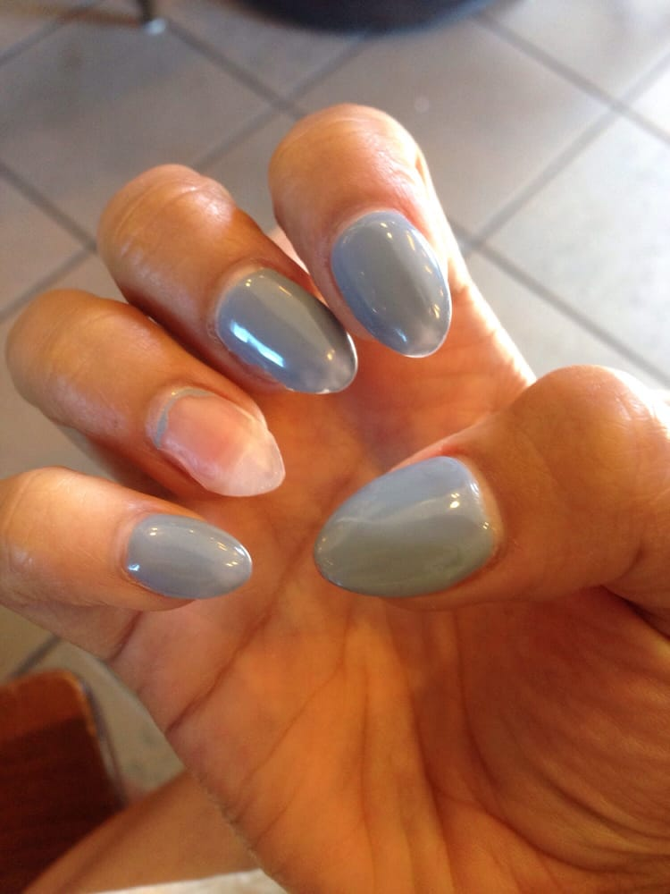 Gel nail fell off