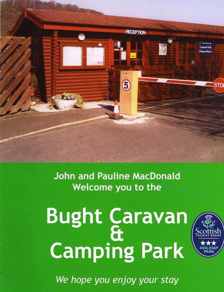 Bught Caravan Park - Camping & Campsites - Bught Caravan Park ...