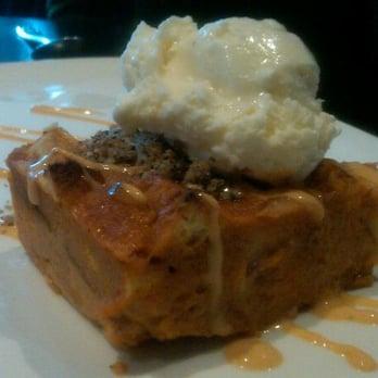 O3 Bistro & Lounge - Thai Tea Bread Pudding w/ Egg Bread, Thai Tea ...