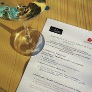 Le Sucre - Lyon, France. Le menu de Drink Alsace au Sucre