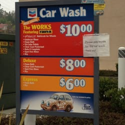 Touchless Car Wash Price At Gas Station