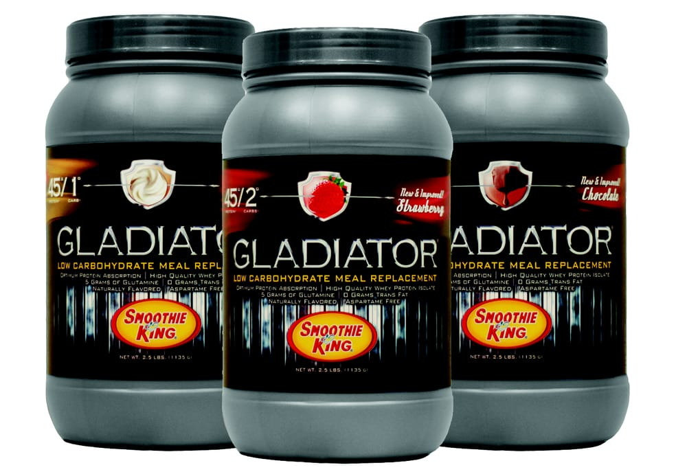 Our Gladiator Low Carb Meal Replacement is specifically designed for ...