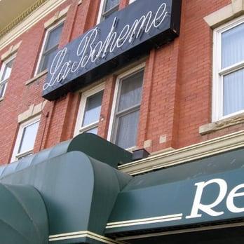La Boheme Restaurant Bed Breakfast Edmonton Ab