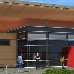 Der neue Eingangsbereich