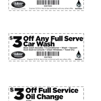 Mr clean car wash coupons cincinnati