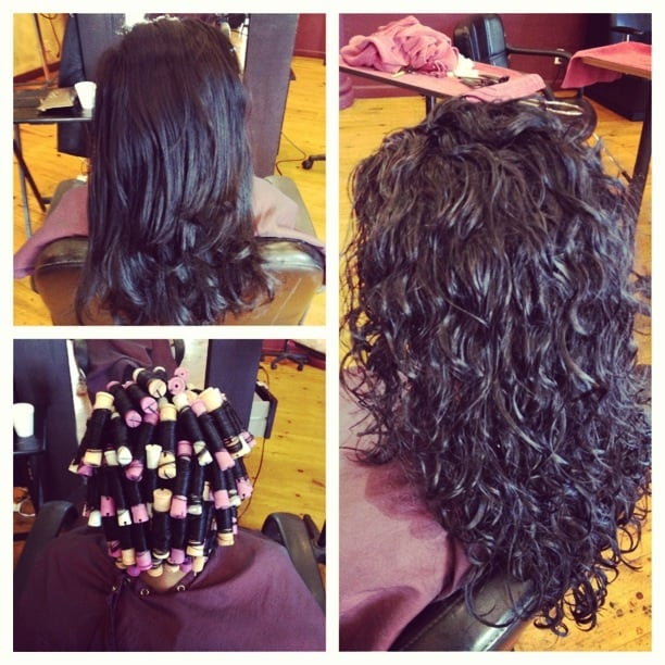 ... by Cynthia - Encino, CA, United States. Spiral perm before and after