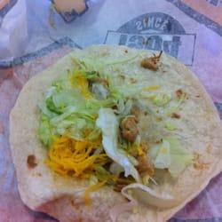 Del Taco - I'll never come here again! Service sucked and taco sucked! - Granada Hills, CA, Vereinigte Staaten