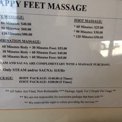 houston happy foot reflexology