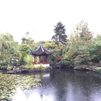 Sun Yat Sen Chinese Garden Botanical Gardens Vancouver
