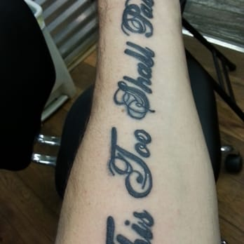 Lucky horseshoe tattoo tattoo northeast fort worth for Best tattoo shops in fort worth texas