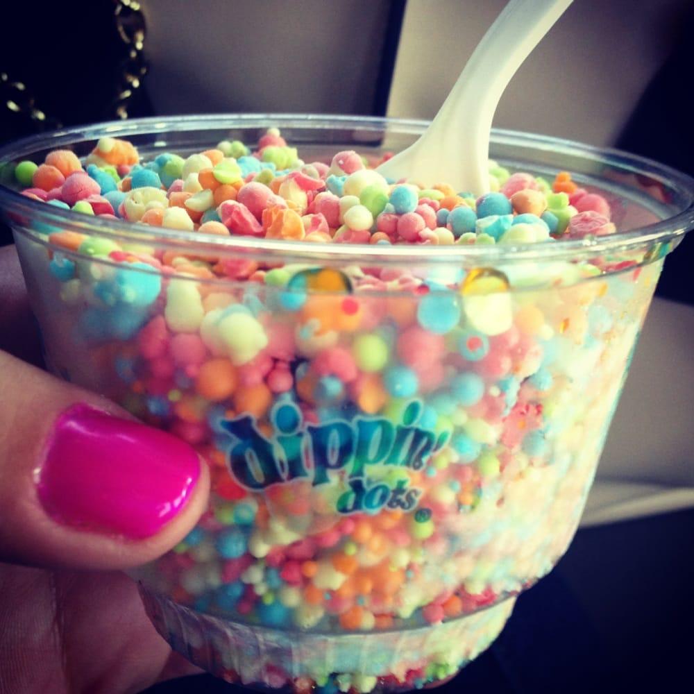Dippin Dots Birthday Cake